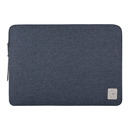 Comfyable Laptop Sleeve 15 inch for Old MacBook Pro 2013-2015, Dell XPS 15 / Surface Book 2, Waterproof Computer Case for Mac - Navy Blue