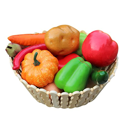 UPC 746839925649, Voberry 12 Pcs High Imitation Vegetable Packages Photographic Props