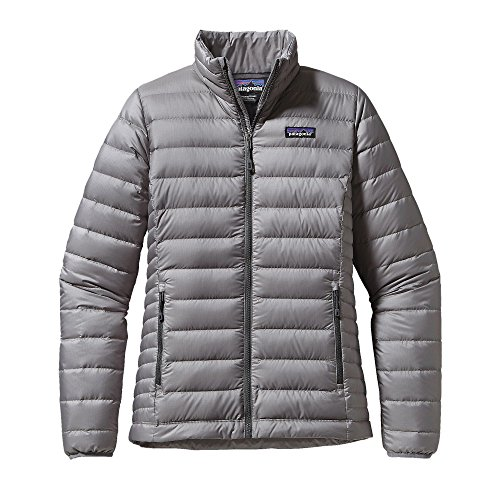 Patagonia Women's Down Sweater Jacket (Small, Feather Grey)
