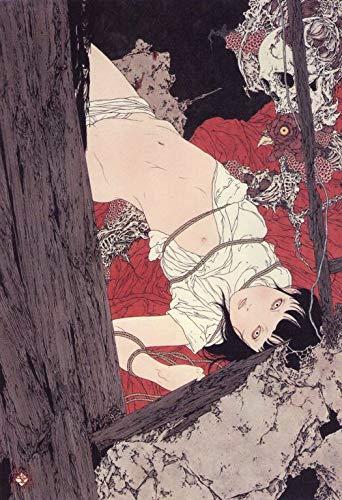Takato Yamamoto 4567 Print in Canvas 12X16 INCH (Yamamoto Print)