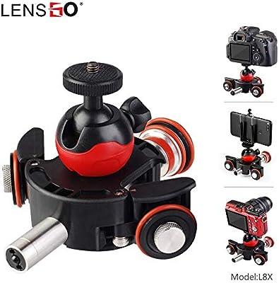 Lensgo - Cámara motorizada con Control Remoto inalámbrico para ...