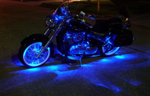 Amazon.com Blue Motorcycle LED Neon Accent Lighting Kit with 10 Chrome LED Light Pods Automotive & Amazon.com: Blue Motorcycle LED Neon Accent Lighting Kit with 10 ... azcodes.com
