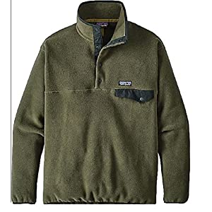 Patagonia Synchilla Snap-T Pullover - Men's (XX-Large, Industrial Green)
