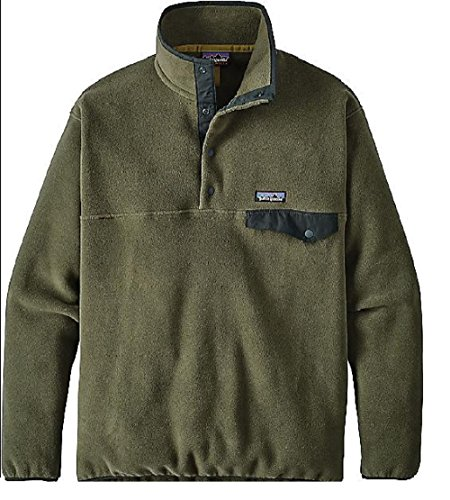 Patagonia Womens Light Weight Synch Snap Pull Over (X-Large, Industrial Green) from Patagonia