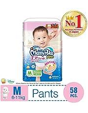 MamyPoko Air Fit Pants, M, Case, 58ct (Pack of 3)