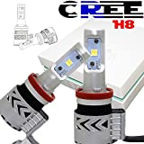 AUSI 8G H8 H9 H11 H16 LED headlight bulb 72W 12000LM 6500K Replace HID XENON Headlights Chevrolet Chrysler Dodge Ford GMC Honda Jeep Nissan Toyota