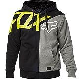 Fox Racing Mens Alchemy Sasquatch Fleece Hoody Zip Sweatshirts Large Black