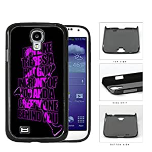 Run Like There's A Hot Guy Violet Hard Plastic Snap On Cell Phone Case Samsung Galaxy S4 SIV I9500