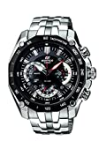 Casio Edifice Chronograph Black Dial Men's Watch - EF-550D-1AVDF (ED390)