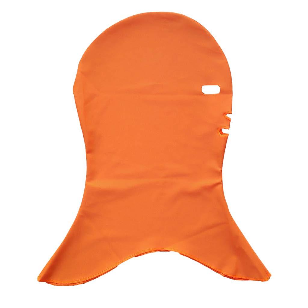 Chirpa Snorkeling Swim Cap Head Sunscreen UV Protection Mask Facekini Sunblock