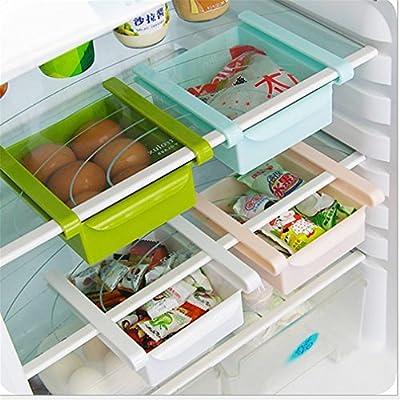 Cocina Nevera Nevera Rack de almacenamiento, hzdirect congelador ...