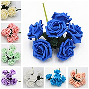 Foam Roses Flowers for Wedding Centerpieces Wholesale Fake Flowers Bridal Bouquet 52