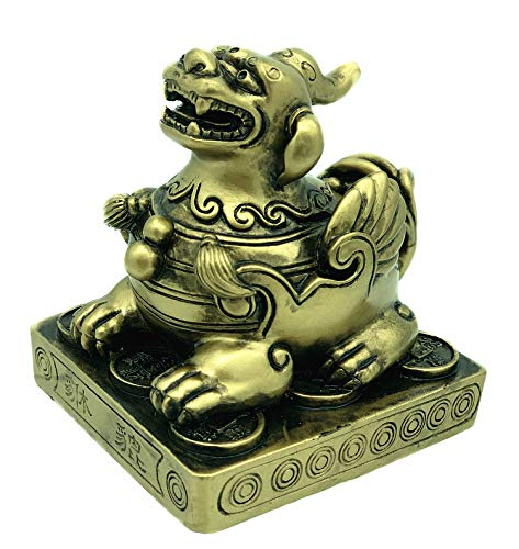 Feng Shui Pi Yao/Pi Xiu Statue Decoration for Protection (With a Betterdecor Gift Bag) ()