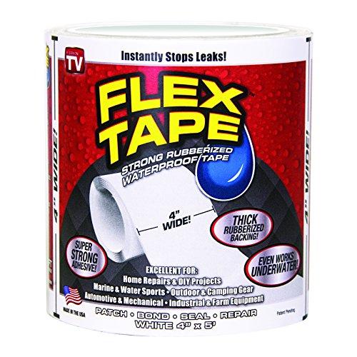 SWIFT RESPONSE TFSWHTR0405 Wht Flex Tape 4' x 5' White