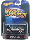 "Back to the Future - 1955 Time Machine ""Back to the Future Part III"" Hot Wheels 2015 Retro Series 1/64 Die Cast Vehicle"