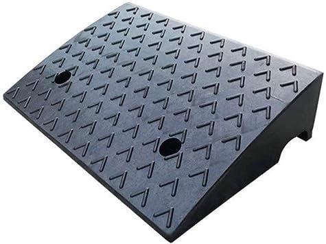 Rampas de hospital, Rampas de carga multifunción de fábrica Material de goma Rampas antideslizantes Rampas de escaleras escalonadas (Color : Black, Size : 48 * 32 * 12CM): Amazon.es: Bricolaje y herramientas