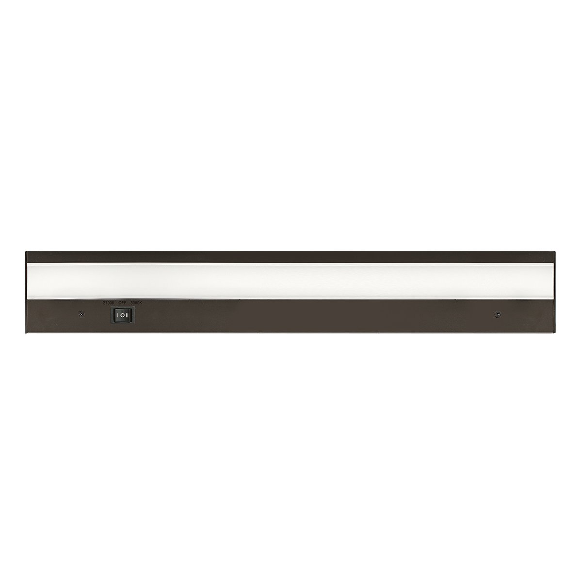 Brzone 18 Inches WAC Lighting BA-ACLED30-27 30BZ Duo ACLED Dual color Option Bar in Bronze Finish; 2700K and 3000K, 30 Inches