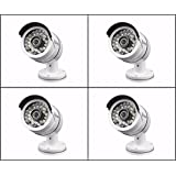 New 4 Pack Swann SRPRO-A855WB4-US PRO-A855 AHD 1080P HD Security Bullet Cameras