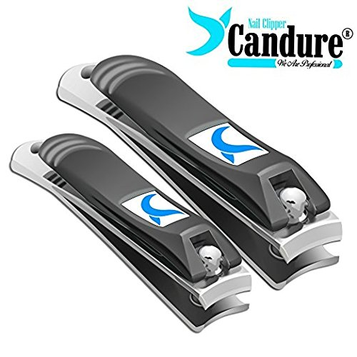 Nail Clippers - Nail Cutter / Trimmer / Nipper Set for Fingernail Toenail and Manicure Pedicure