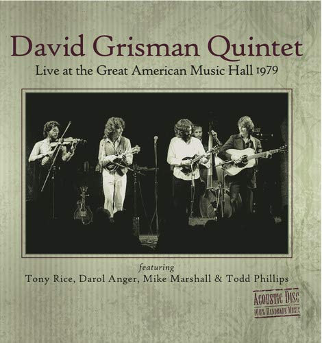 Live At The Great American Music Hall 1979 (Music Hall American Great)