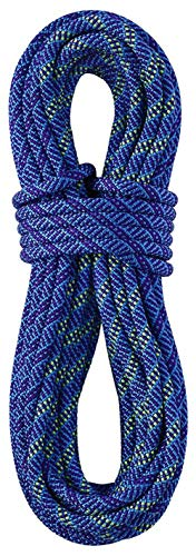 - STERLING Ropes 9.5mm Evolution Helix DryXP Dynamic Climbing Rope - Bicolor Blue 60M