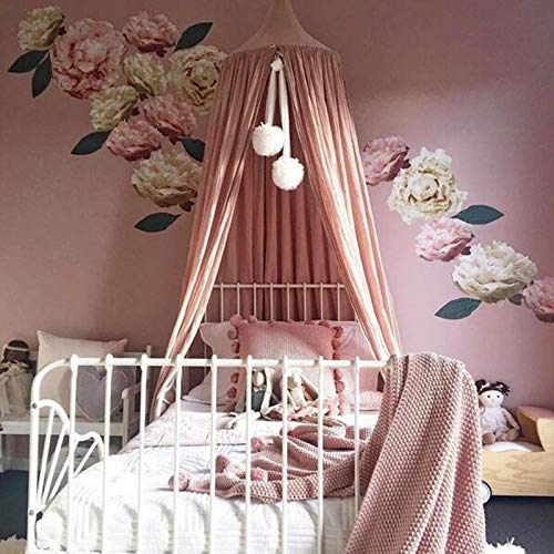 iHOMIKI Summer Nordic Style Mosquito Net Ball Romantic Chiffon Canopy Tent Bed Curtain For Adult Kids Room Decoration Ideal for Travelling Camping