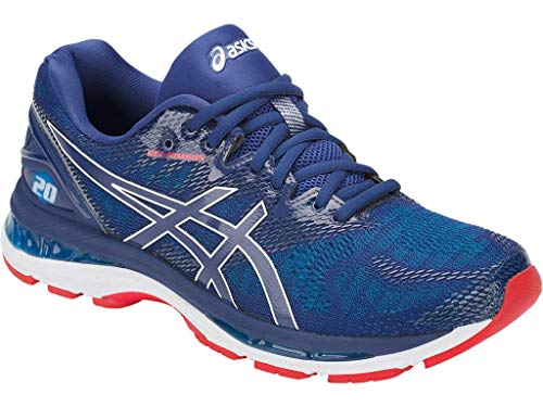 b023d8c6b4e24 ASICS Men's Gel-Nimbus 20 Running Shoes, 11M, Blue Print/Race Blue