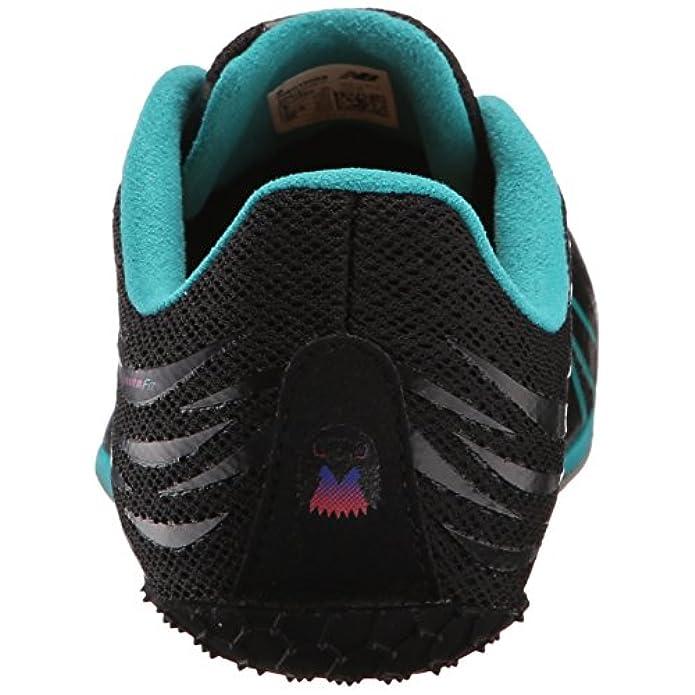 New Balance Women's Wsd100v1 Track Spike Shoe Black blue 10 B Us