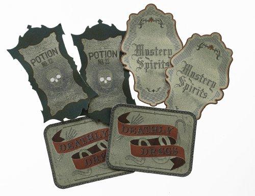 Martha Stewart Crafts Wine Labels, Gothic Manor -