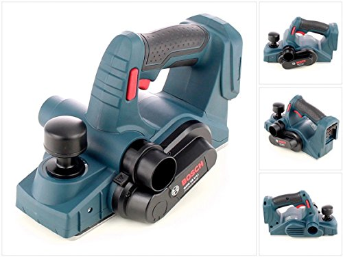 Bosch GHO 18 V-LI Professional Akku Hobel solo, nur das Gerät, ohne Akku und ohne Ladegerät