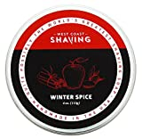 West Coast Shaving, Shaving Soap, Winter Spice. Rich Lather, Smoothe Comfortable Shave. For Men and Women.
