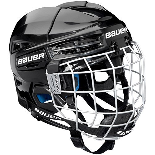 Bauer Prodigy Helmet Combo, Black (Best Youth Hockey Helmet)