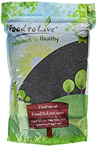 Food to Live Poppy Seeds (England) (Kosher) (4 Pounds)