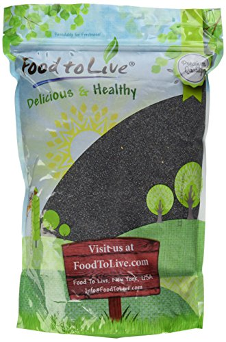 Food to Live Poppy Seeds (England) (4 Pounds) (Seeds Poppy Foods)