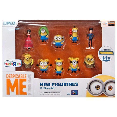 Despicable Me Surprise Pack 8 Figure Set (2)