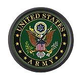 Cheap CafePress – U.S. Army Symbol – Large 17″ Round Wall Clock, Unique Decorative Clock