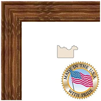 Amazon.com - ArtToFrames 11x18 inch Honey stain Wood Picture Frame ...