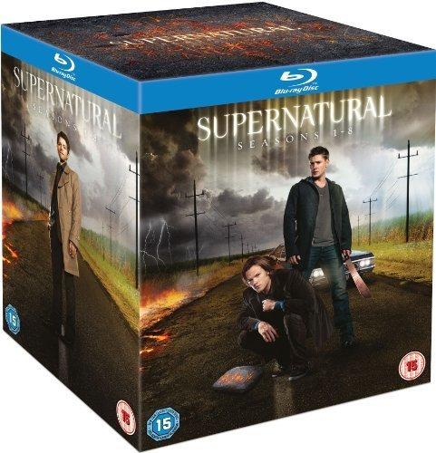 (Supernatural: Season 1-8 [Blu-ray] by Imports)
