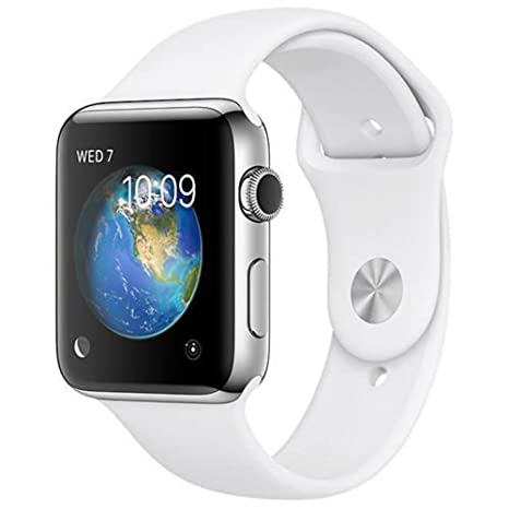 Amazon.com: Reloj Apple Smart Watch acero inoxidable Series ...