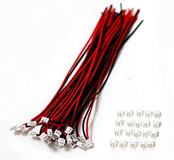 Winwill/® 10 SETS Mini Micro ZH 1,5 4-Pin JST Stecker mit Dr?hten Kabel