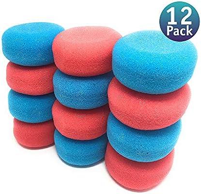 12 Pack. Esponjas hidrófilas para bebés. Gran absorción y suavidad. 12 paquetes individuales con 1 esponja hidrófila.: Amazon.es: Bebé
