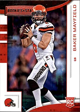 7da7e66e8 2018 Panini Rookies and Stars  101 Baker Mayfield NM-MT RC Cleveland Browns  Official