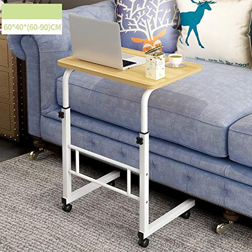 Mobile Laptop Desk Cart, Mobile Dining Table Stand-Up
