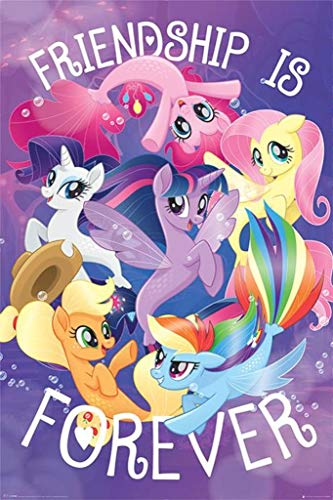 Pyramid International My Little Pony Movie Friendship is Forever Poster 36x24 inch