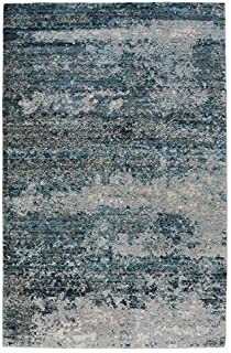 product image for Capel Flame-Drake Blue 8' x 10' Rectangle Machine Woven Rug