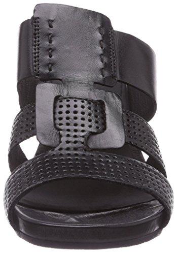 black Zuecos 100 Mujer Schwarz 21 Cuero Negro joana 1 443 04 100 De Marc Shoes AwO0T