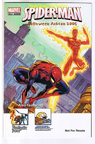 (SPIDER-MAN Halloween ashcan,Promo,Human Torch, 2005, NM, more SM in)