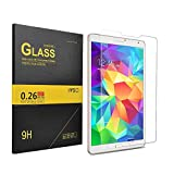 IVSO Premium Tempered-Glass Screen Protector for Samsung Galaxy Tab E 9.6-Inch Tablet