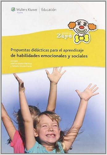 Resultado de imagen de Aprende con Zapo. Propuestas didácticas para el aprendizaje de habilidades emocionales y sociales. WOLTERS KLUWER.
