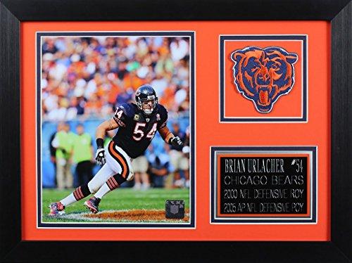 Brian Urlacher Framed 8x10 Chicago Bears Photo (BU-P2B)
